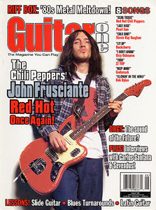 Guitar One magazine cover